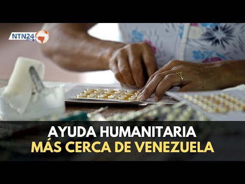 Estas son las primeras imágenes de la ayuda humanitaria de EEUU para Venezuela