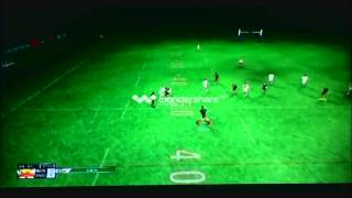 Rugby League Live 2 Legend difficulty game play, Australia vs England