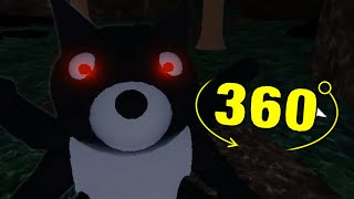 ROBLOX PIGGY DOGGY'S FUNERAL JUMPSCARE 360