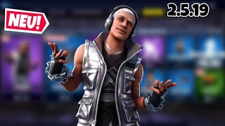 FORTNITE DAILY ITEM SHOP 2.5.19 | NEUER STERLING SKIN IST DA!!