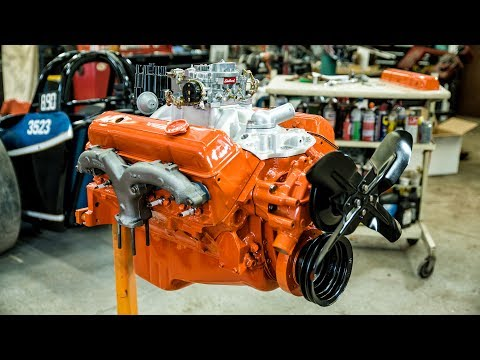 Chevy SmallBlock V8 Engine Rebuild TimeLapse Commentary  Redline Rebuilds Explained