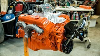 Chevy Small-block Engine Rebuild Time Lapse Commentary   Redline Rebuilds Explained