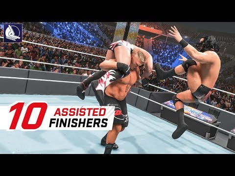 WWE 2K19 Top 10 Assisted Finishers