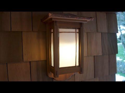 DIY, Woodworking, Making A Wall Lantern