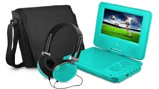 The Ematic EPD707 Portable DVD Player Unboxing And Quick Look