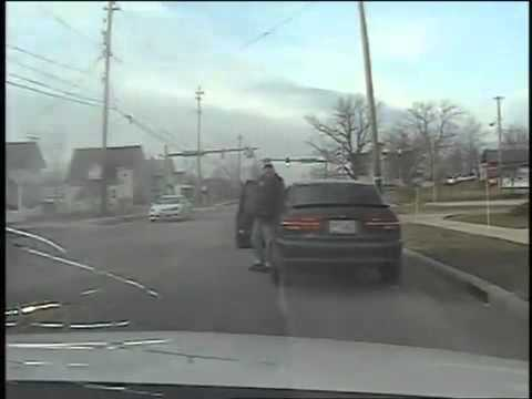 Man With AK 47 Shot To Death By Police.  POLICE DASH CAM. SHOOT TO KILL DEADLY FORCE