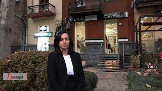 Լենա Նազարյանը, դուրս գալով գեղեցկության սրահից, չպատասխանեց ոչ մի հարցի․ «Հրապարակ»