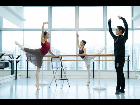 Hong Kong Ballet Barre Classes Online Advanced class 1