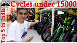 Top 5 Cycles Under Rs 15000 | 2019 | Ajsvlog | Indian Cycling Vlog