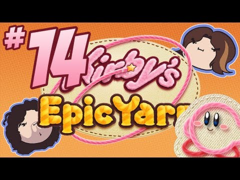Kirby's Epic Yarn: Don't Even Care - PART 14 - Game Grumps