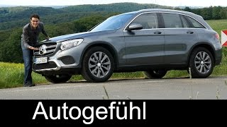 Mercedes GLC SUV FULL REVIEW test driven Exclusive 250d 2017/2016 - Autogefühl