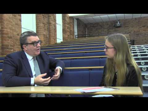 Abby Tomlinson interviews Tom Watson MP