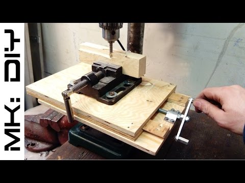 MK: DIY Milling table for drill press #tutorial