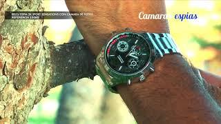 Reloj Espia con la Mejor Resolución del Mercado para Grabar más Nítido ⌚ 2K  Ref.10085