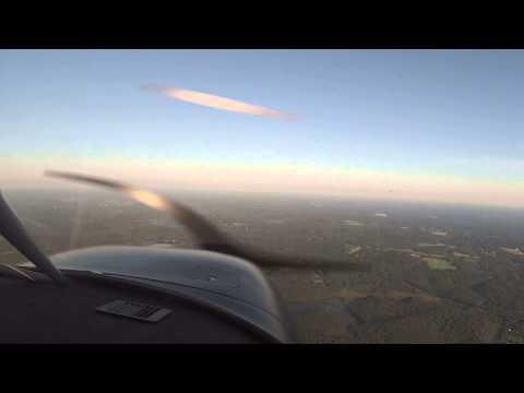 Evening Flight with fellow EAA'er - Hartford Brainard Airport