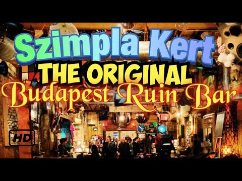 Szimpla Kert - The Original Budapest Ruin Bar / Club  - POV Tour - Walkthrough