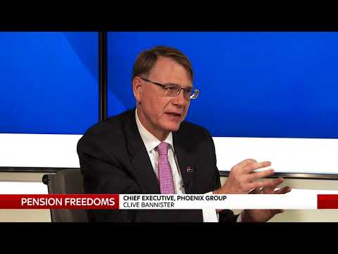 Talking pensions freedoms with CEO of Phoenix Group
