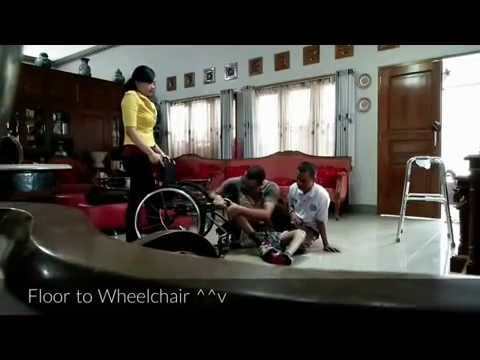 floor to wheelchair transfer 2