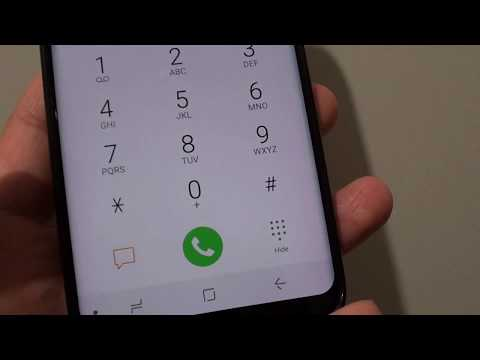 Samsung Galaxy S8: Issue With Missing Video Calling On Keypad