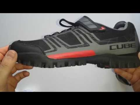 CUBE All Mountain MTB SPD Bike shoes Product ZOOM YouTube