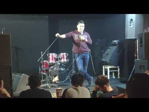 Аманжан Махметов. Открытый микрофон. Первый стендап Аманжана.