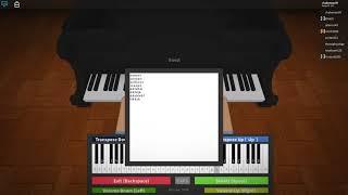 Joyeux anniversaire I Roblox (tutoriel de piano)
