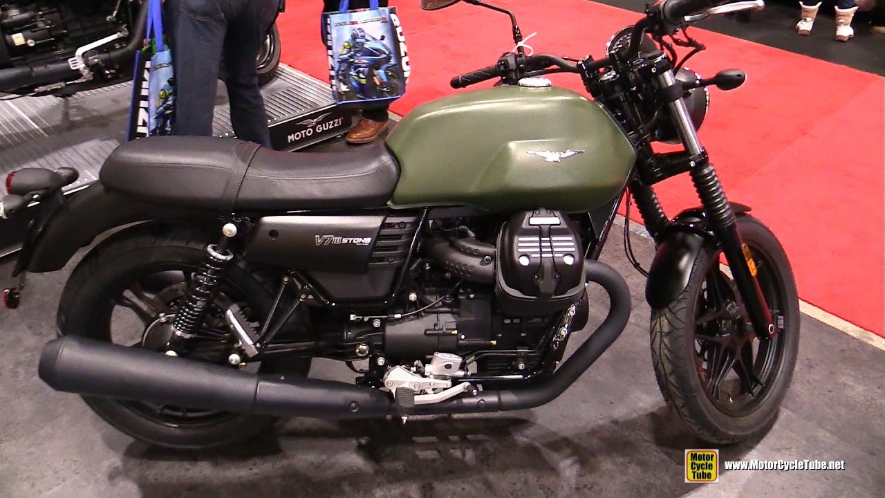 2017 moto guzzi v7 iii stone walkaround 2017 toronto motorcycle show youtube. Black Bedroom Furniture Sets. Home Design Ideas