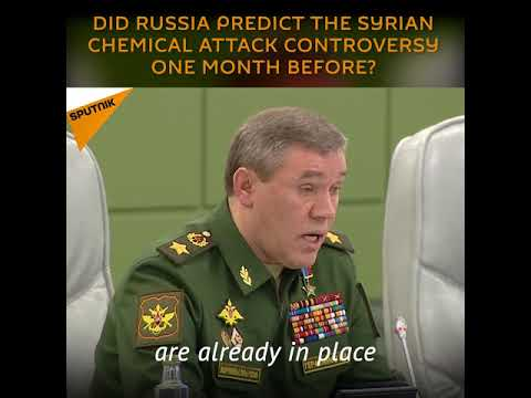 Syria: Did Russia Predict the Syrian Chemical Attack Controversy One Month Before?