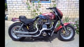 Слайд-шоу из фото мотоциклов