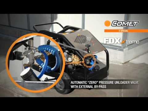 FDX EXTREME   sand Blasting  drain nozzle, rottary nozzle