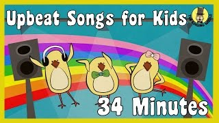 Upbeat Kids Songs | Children's Song Collection | The Singing Walrus