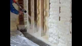 Docieplenia poprzez natrysk pianki poliuretanowej