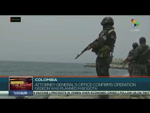 Colombian Attorney General confirms operation Gideon was planned in Bogota