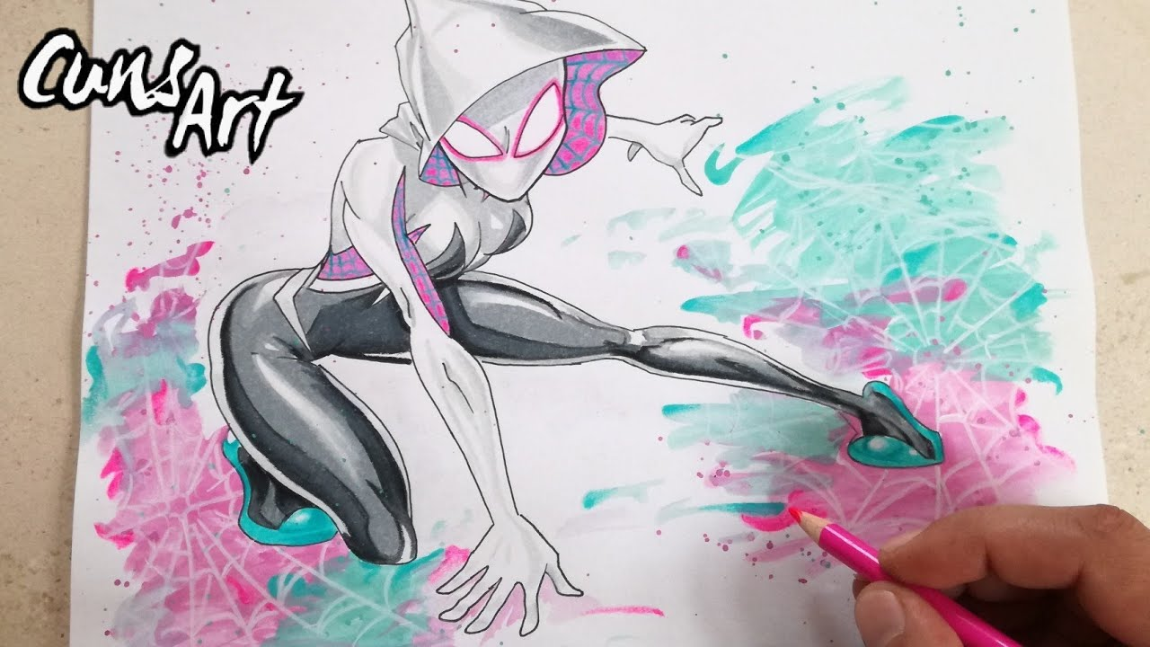 Dibujos De Spiderman Para Pintar: COMO DIBUJAR A SPIDERMAN