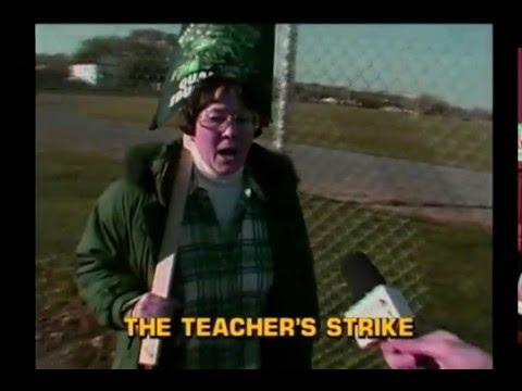 Tom Green interviews Teachers during Strike