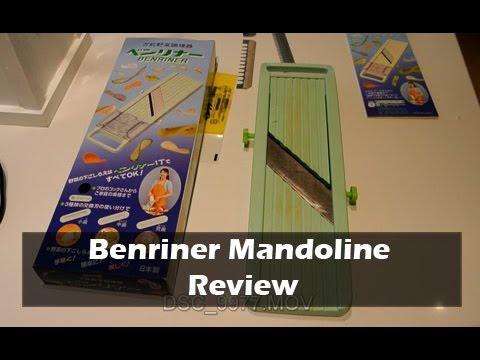 Review Of Benriner Mandoline Slicer