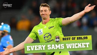 All of BKT Golden Arm Daniel Sams' wickets | KFC BBL|09