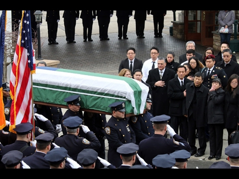 NYPD officer Yong Yun laid to rest