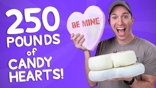 We Made the World's Largest Candy Hearts • This Could Be Awesome #16