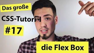 CSS display flex - Flex-Box Tutorial #17 (2018) Deutsch