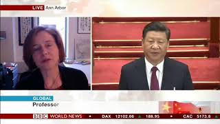Mary Gallagher on BBC World News - Presidential Terms