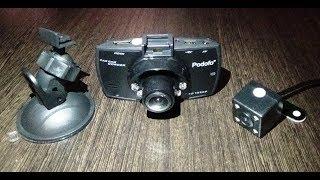 Автомобильный видеорегистратор с камерой заднего вида Car Camcorder c AliExpress
