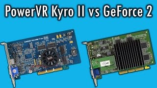 PowerVR Kyro II vs GeForce 2 GTS: Efficiency meets brute force