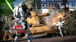 Star Wars Battlefront 2 Stream | Split Screen Co-Op | Arcade Mode |  Xbox One