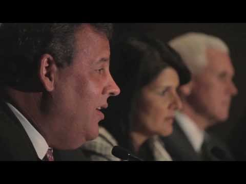 RGA Chairman Chris Christie on Washington Politicians vs Republican Governors