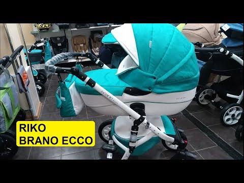 Купить коляску Riko Brano Ecco - флагман от А-бренда. Обзор. Надо брать!