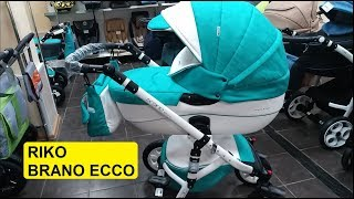 Купити коляску Riko Brano Ecco - флагман від А-бренду. Огляд. Треба брати!