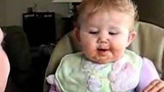 Kira Eating Baked Ziti