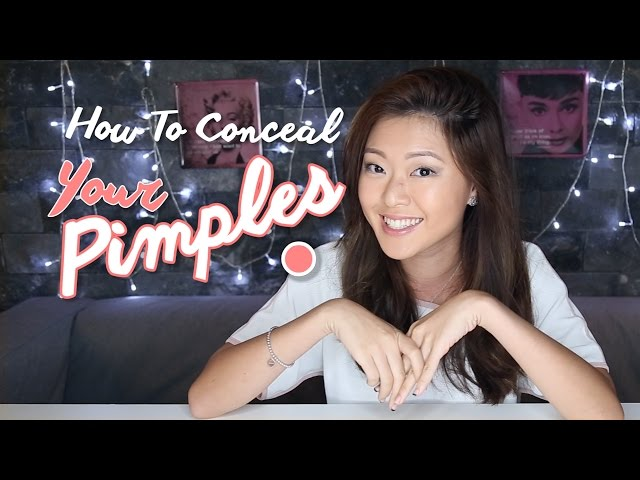 How To Conceal Your Pimples - PrettySmart: EP 14