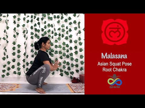 Malasana Pose | Asian Squat Pose | Promotes Natural Child Birth | Yoga For Constipation , Menopause